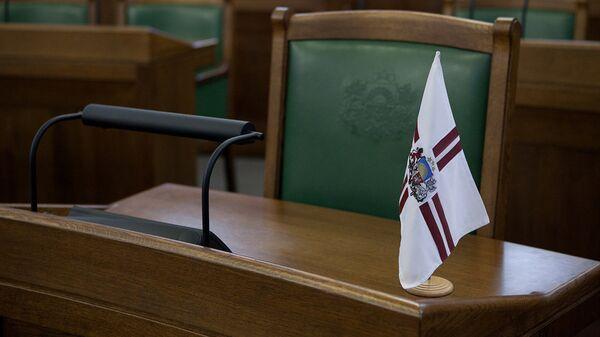 Кресло в Сейме Латвии - Sputnik Латвия