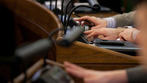 Голосование в Сейме - Sputnik Латвия