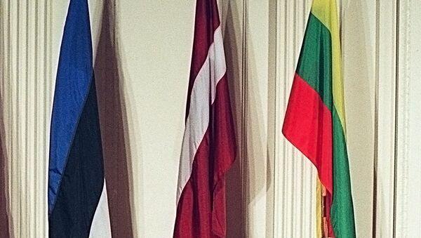 Igaunijas, Latvijas un Lietuvas karogi - Sputnik Latvija