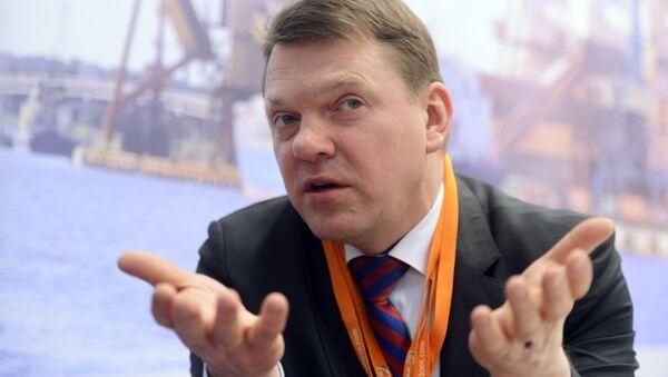 Глава Латвийской железной дороги Эдвинс Берзиньш - Sputnik Латвия