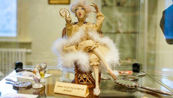 Выставка старинных зеркалец в Доме-музее Аспазии - Sputnik Латвия