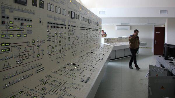 Панель управления БелАЭС, архивное фото - Sputnik Латвия