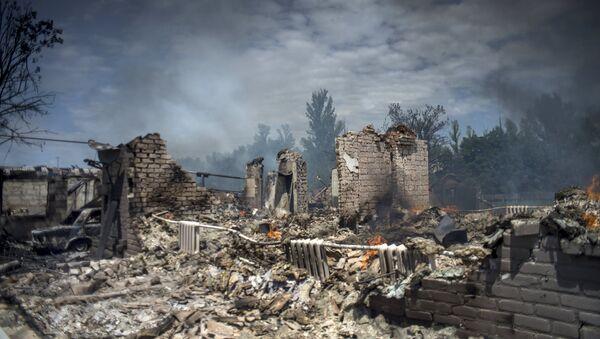 Situācija Luganskas apgabalā - Sputnik Latvija