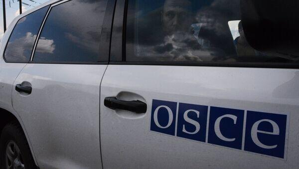 Машина ОБСЕ - Sputnik Латвия