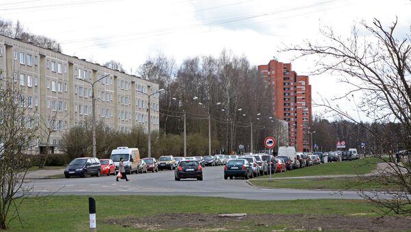 Улица Клейсту в Иманте, бывшая улица Якова Петерса - Sputnik Latvija