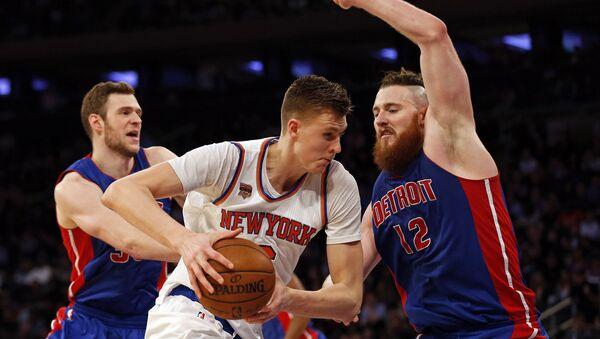Форвард New York Knicks Кристап Порзиньгис - Sputnik Латвия