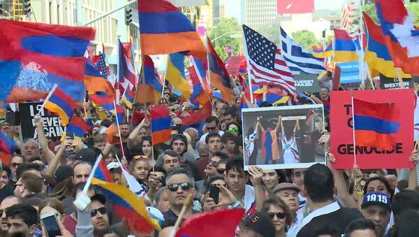 Акции памяти о геноциде армян - Sputnik Латвия