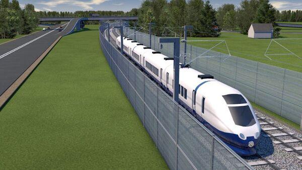 Rail Baltica projekta vizualizācija - Sputnik Latvija