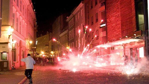 События Бронзовой ночи в Таллинне - Sputnik Латвия