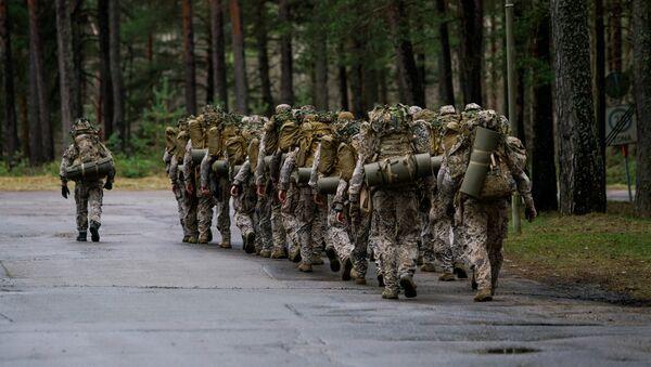 Подразделение латвийской армии - Sputnik Latvija