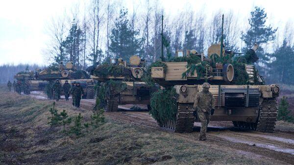 M1A2 Abrams. Foto no arhīva - Sputnik Latvija