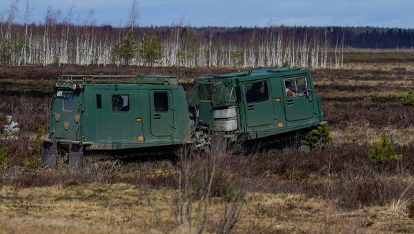Hagglunds Bandvagan 206 (BV 206) - Sputnik Latvija
