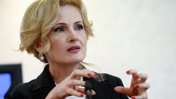 Заместитель председателя Государственной Думы РФ Ирина Яровая - Sputnik Латвия