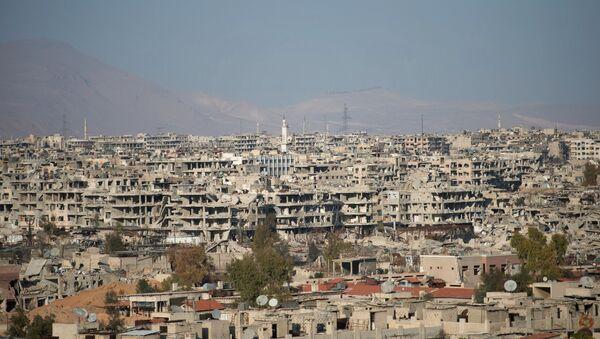 Ситуация в сирийском городе Дамаске - Sputnik Латвия