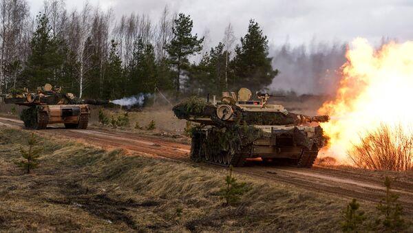 Международные военные учения Summer Shield XIV в Латвии - Sputnik Латвия