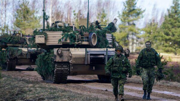Международные военные учения Summer Shield XIV в Латвии - Sputnik Latvija