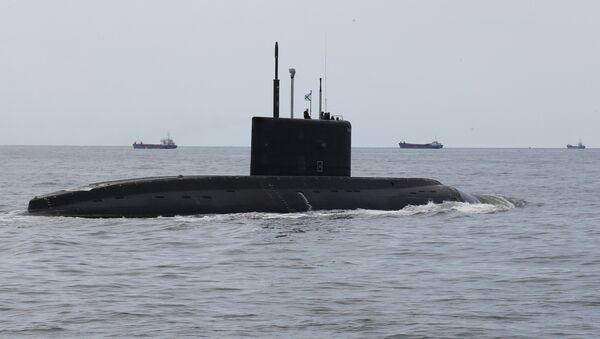 Подлодка и корабли Балтийского флота в Калининграде - Sputnik Латвия