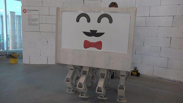 Прототип ходячего дома на выставке в Волгограде - Sputnik Латвия