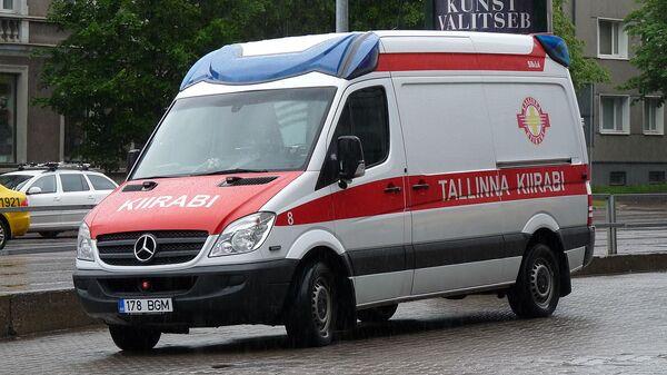 Карета скорой помощи в Эстонии - Sputnik Latvija