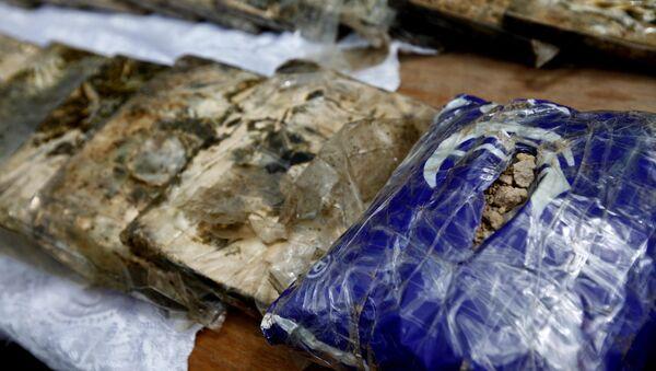 Reidos konfiscētās narkotikas. Foto no arhīva - Sputnik Latvija