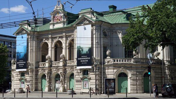 Латвийский национальный театр в Риге - Sputnik Латвия