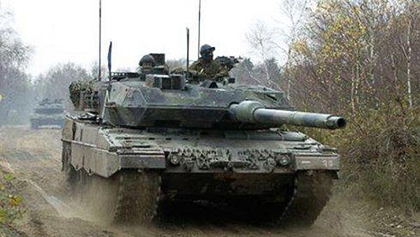 Танк  Leopard - Sputnik Латвия
