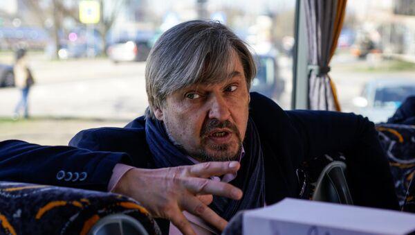 Дагнис Страубергс, председатель Салацгривской краевой думы Дагнис Страубергс - Sputnik Латвия