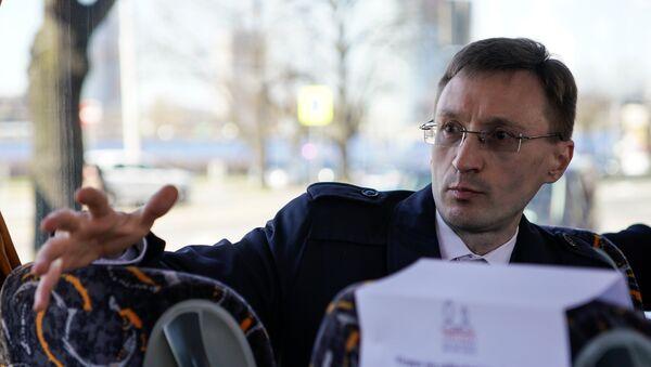 Арнис Кактиньш, Руководитель Центра исследований общественного мнения (SKDS) - Sputnik Latvija