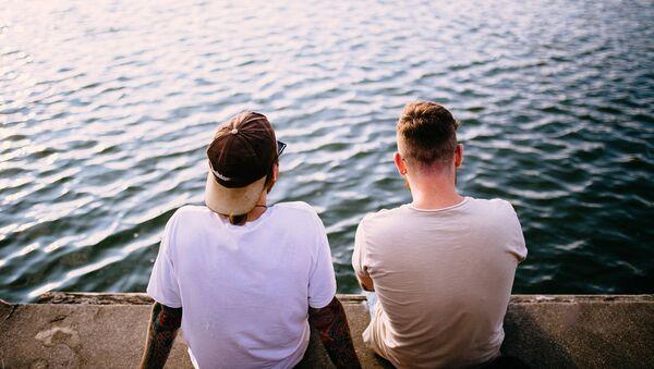 Vīrieši krastā - Sputnik Latvija