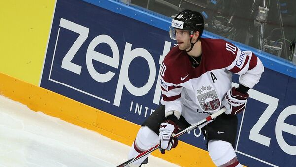 Хоккеист Лаурис Дарзиньш - Sputnik Latvija