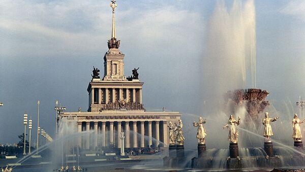 Павильон СССР на ВДНХ в Москве - Sputnik Латвия