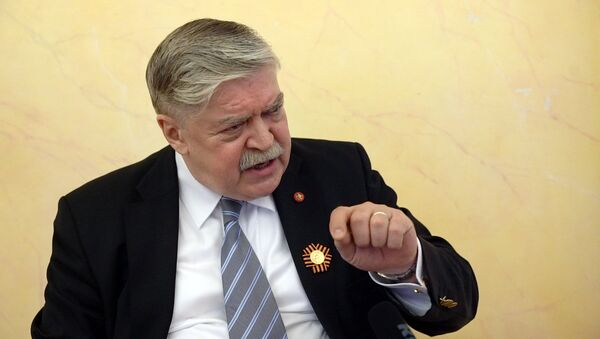 Krievijas vēstnieks Latvijā Lukjanovs - Sputnik Latvija