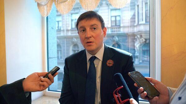 Губернатор Псковской области Андрей Турчак - Sputnik Латвия