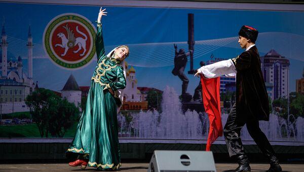 Народные танцы на празднике Сабантуй - Sputnik Латвия