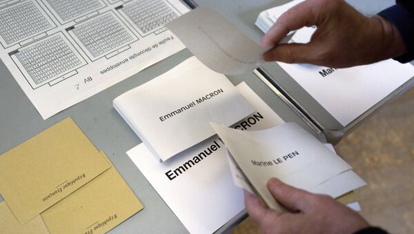 Второй тур президентских выборов во Франции - Sputnik Латвия