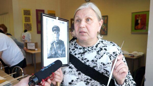 За портретами Бессмертного полка скрываются удивительные истории - Sputnik Латвия