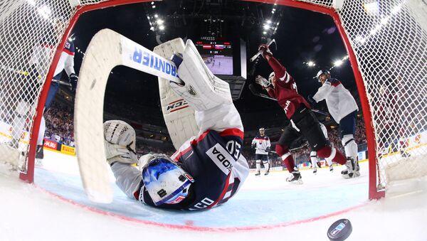 Чемпионат мира по хоккею Латвия - Словакия - Sputnik Латвия
