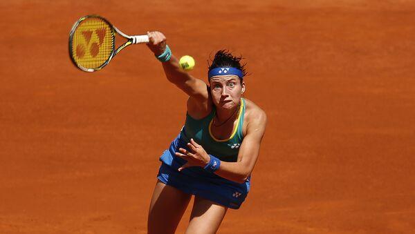 Анастасия Севастова из Латвии на турнире в Мадриде - Sputnik Латвия
