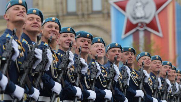 Военный парад, посвящённый 72-й годовщине Победы в ВОВ - Sputnik Латвия
