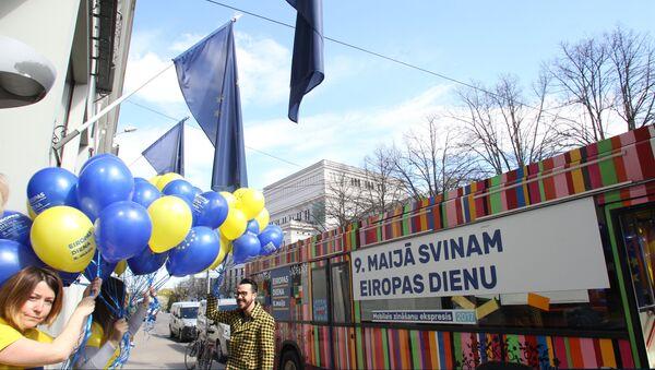 Празднование Дня Европы в Риге - Sputnik Латвия