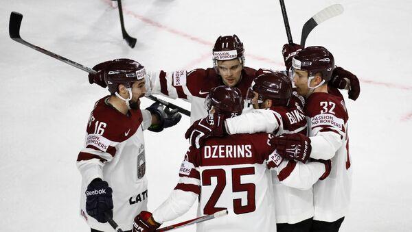 Победа сборной Латвии над Италией - Sputnik Латвия