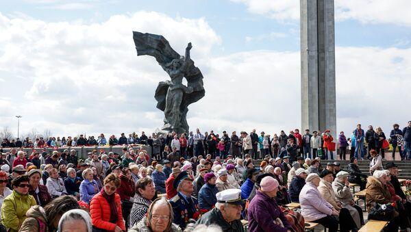 Празднование 9 мая в Риге - Sputnik Латвия