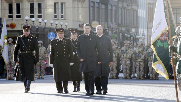Участие и речь на военном параде в честь Дня Лачплесиса - Sputnik Latvija