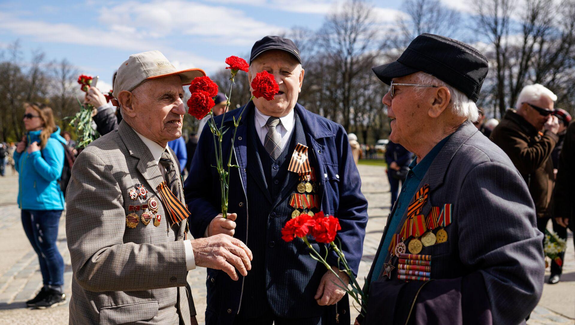 Празднование 9 мая в Риге - Sputnik Latvija, 1920, 20.04.2021