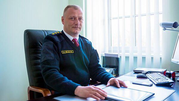 Начальник рижской полиции Юрис Шулте - Sputnik Латвия
