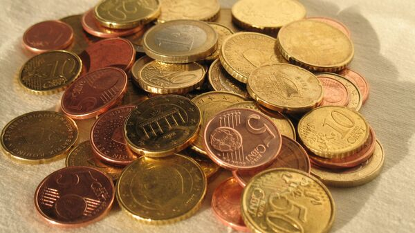 Евро, монеты - Sputnik Latvija