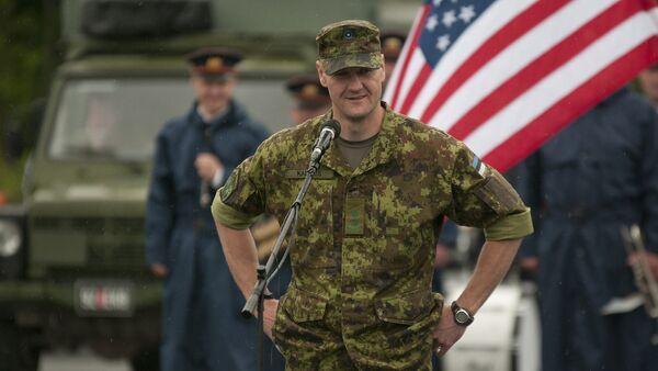 Военный эстонской армии - Sputnik Латвия