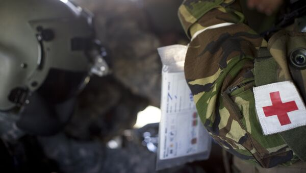 Военный медик - Sputnik Latvija