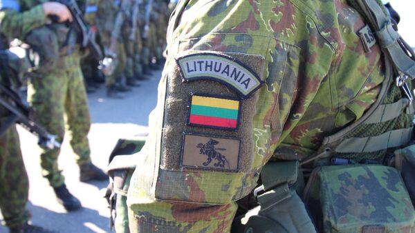 Lietuvas armijas karavīrs - Sputnik Latvija