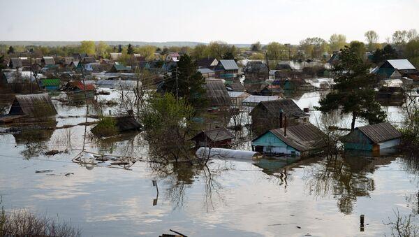 Plūdi Tjumeņas apgabalā. Foto no arhīva - Sputnik Latvija